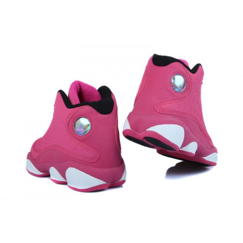 la moitié 0cee3 2b746 purchase air jordan retro 13 rose blanc 5417e cefe6